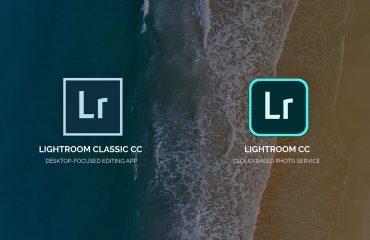 Lightroom Classic y Lightroom CC